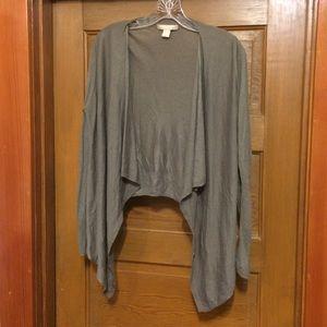 BANANA REPUBLIC drape cardi
